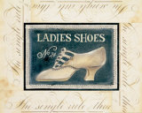 Ladies Shoes No. 24 Prints by Kimberly Poloson