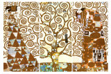 生命の樹(The Tree of Life、ストックレー・フリーズ) 高品質プリント : グスタフ・クリムト