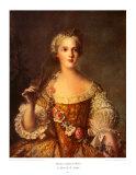フランスのソフィー夫人 高品質プリント : ジャン=マルク・ナティエ