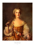 Madame Sophie de France Prints by Jean-Marc Nattier