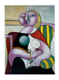 Lecture, Woman Reading Poster par Pablo Picasso