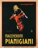 Maccheroni Pianigiani,1922 Posters par Achille Luciano Mauzan