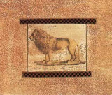Lion Prints by Joyce Combs