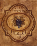 Merlot Poster by Gregory Gorham