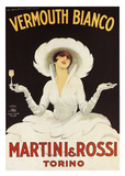 Martini & Rossi Print by Marcello Du Dovich