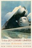 20th Century Limited Affiches par Leslie Ragan