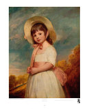 Miss Willoughby Poster by George Romney