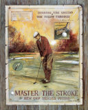Master the Stroke Print by Ruane Manning