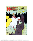 Moulin Rouge, c.1891 Art by Henri de Toulouse-Lautrec