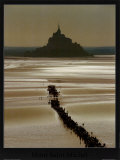 Mont St. Michel Print by Philip Plisson