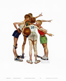 Oh, Yeah Art by Norman Rockwell