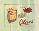 Olives Noires Posters by Martin Wiscombe