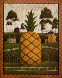 Pineapple Poster by Chris Palmer