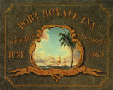 Port Royale Inn Print by Catherine Jones