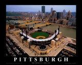 Estadio PNC: Pittsburgh, Pensilvania Posters por Mike Smith