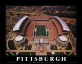 Pittsburgh  (First Game, Heinz Field,  August 25, 2001) Poster by Mike Smith