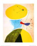 Portrait Affiche par Joan Miró