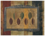 Poplar Leaf Print by Tamara Wright