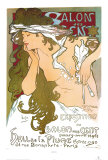 Salon des Cent Psters por Alphonse Mucha