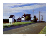 Carretera 6, Eastham Lmina por Edward Hopper