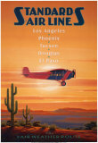 Compagnies a&#233;riennes&#160;- El Paso, Texas Affiches par Kerne Erickson