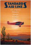 Standard Airlines – El Paso, Texas Kunstdruck von Kerne Erickson