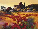 Soir d'Ete Prints by Roger Keiflin