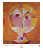 Senecio Kunst von Paul Klee
