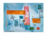 Structure Angulaire Poster von Wassily Kandinsky