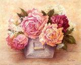 Ombres de roses II Posters par Anne Searle