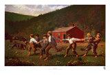 Spielende Knaben Kunstdrucke von Winslow Homer