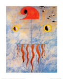 Joan Miró - Tete de Paysan Catalan, c.1925 - Poster