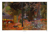 Bagnanti, 1898 Poster di Paul Gauguin