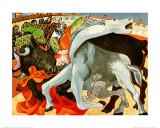 The Bullfight Kunstdrucke von Pablo Picasso