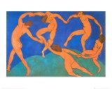 La danse Affiches par Henri Matisse