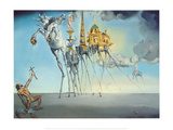 The Temptation of St. Anthony, ca. 1946 Posters af Salvador Dalí