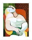 El sueño Láminas por Pablo Picasso