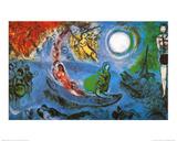 The Concert Kunst af Marc Chagall