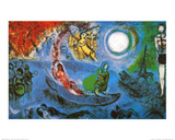 The Concert Art by Marc Chagall