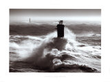 Tempete sur l&#39;Iroise Prints by Guillaume Plisson