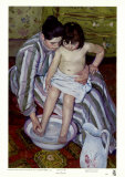 The Bath Posters by Mary Cassatt
