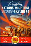 Líneas aéreas TWA Láminas por Kerne Erickson