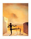 The Ghost of Vermeer Plakat av Salvador Dalí