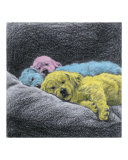 Sweet Dreams (pink, blue, yellow) Giclee Print by Evelyn Morris Hecht