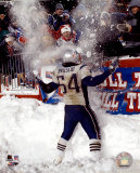Tedy Bruschi - Snow Game 12/7/03 Photo