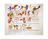 Succession, 1935 Posters par Wassily Kandinsky