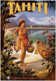 Tahiti Kunstdrucke von Kerne Erickson