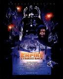Das Imperium schlägt zurück – Sonderausgabe (Postkarte in Übergröße, mit engl. Text) Kunstdrucke