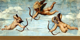 The Triumph of Galatea, 1511 (detail) Poster by Raphael