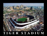 Detroit - Tiger Stadium Final Game Posters av Mike Smith